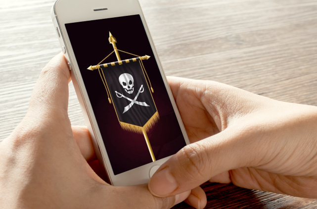 SMS Pirata? Jamais!