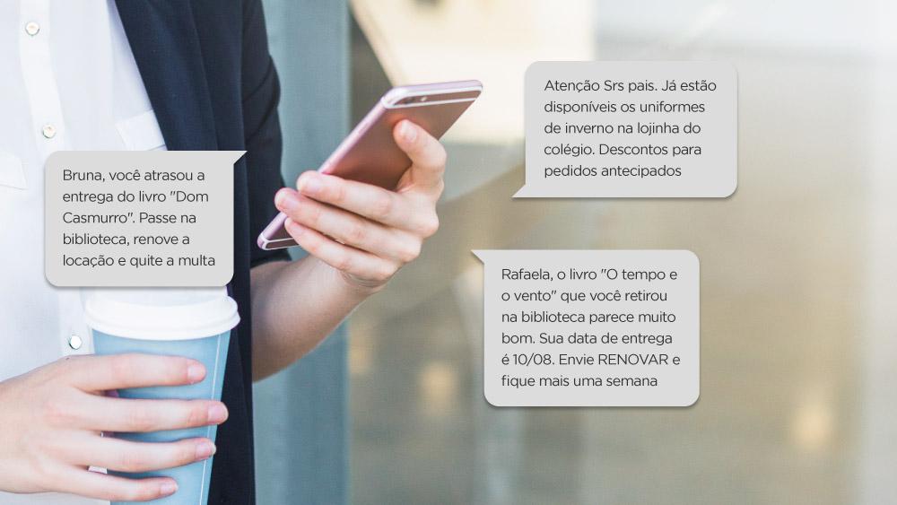 SMS ESCOLA