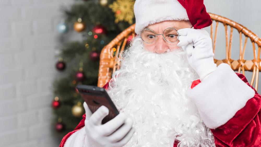 12 exemplos de mensagens para o Natal usando E-mail e SMS