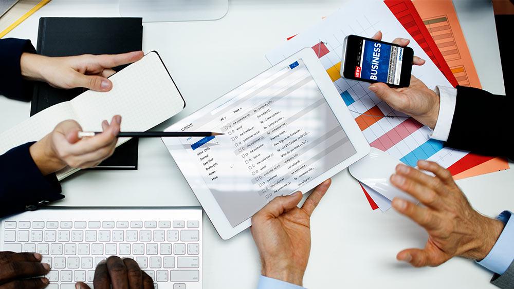 Que tipos de ações podem ser realizadas com email marketing?