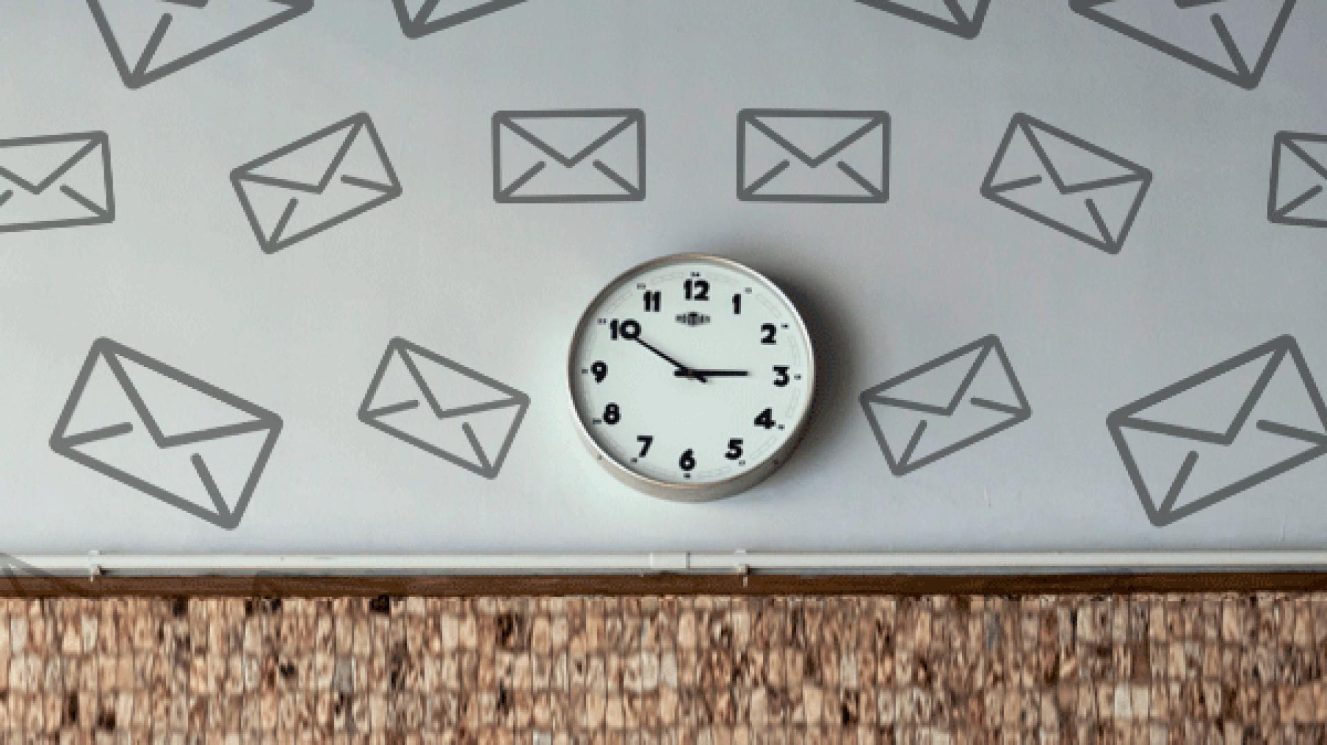 Qual o melhor dia e horário para o envio de e-mail marketing?
