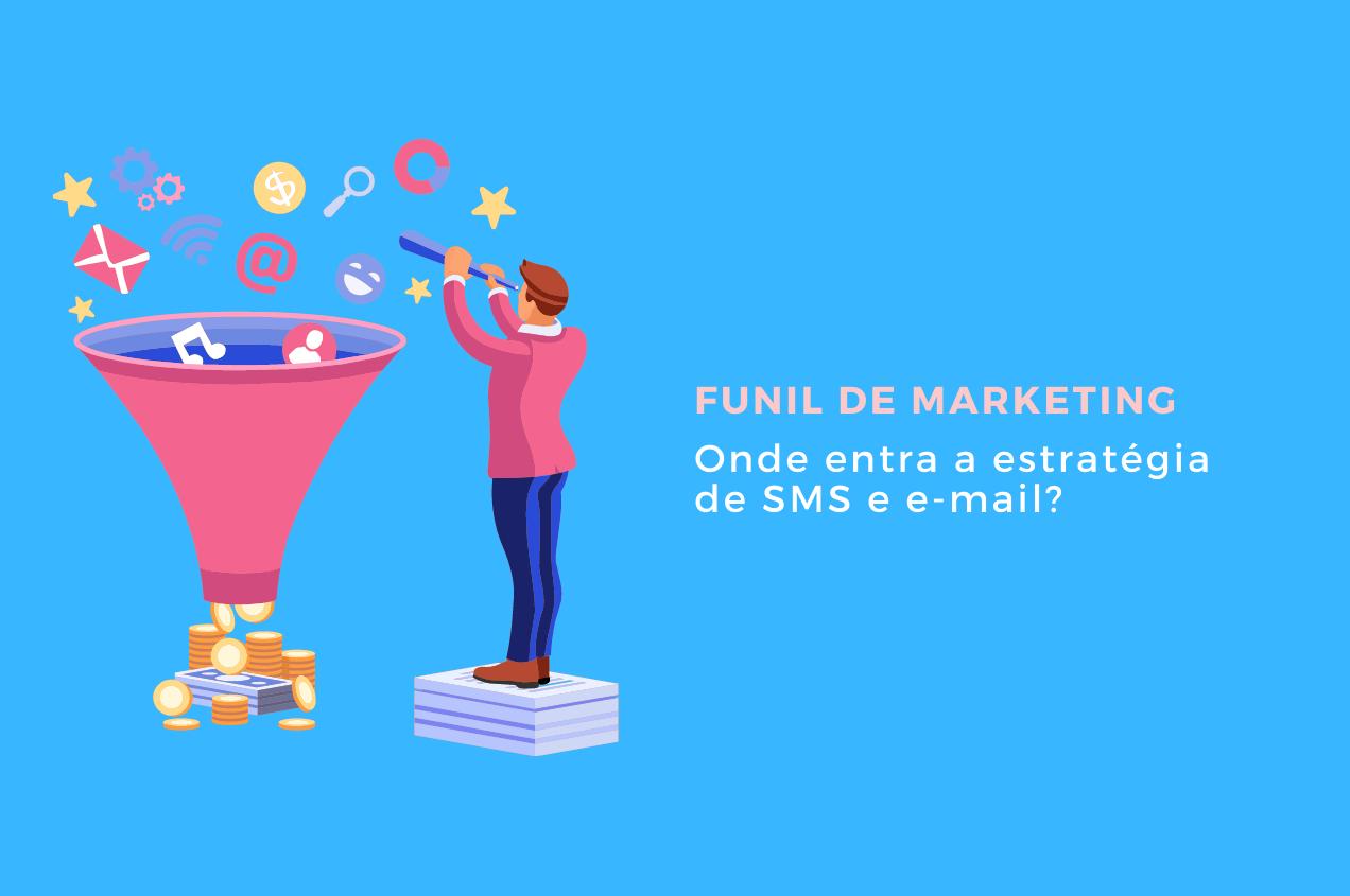 Funil de marketing: onde entra a estratégia de SMS e E-mail Marketing?