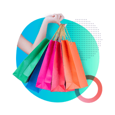 Aumento das compras